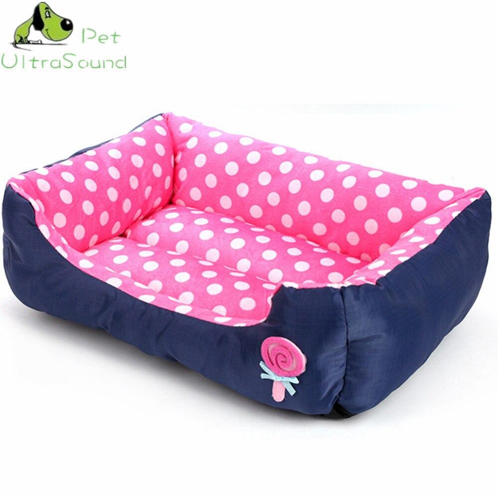 ULTRASOUND PET All Seasons Small Medium Size Extra Pet Dog Bed House Sofa Kennel Soft Dots Fleece Pet Dog Cat Warm Bed S M L 7