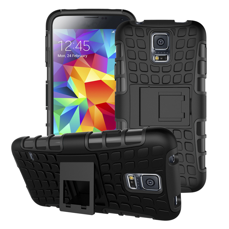 For <font><b>Samsung</b></font> <font><b>S5</b></font> <font><b>Case</b></font> i9600 <font><b>G900F</b></font> G900A Heavy Duty Armor Shockproof Hard Silicone Phone Cover For <font><b>Samsung</b></font> <font><b>Galaxy</b></font> <font><b>S5</b></font> S5neo <font><b>S5</b></font> neo image