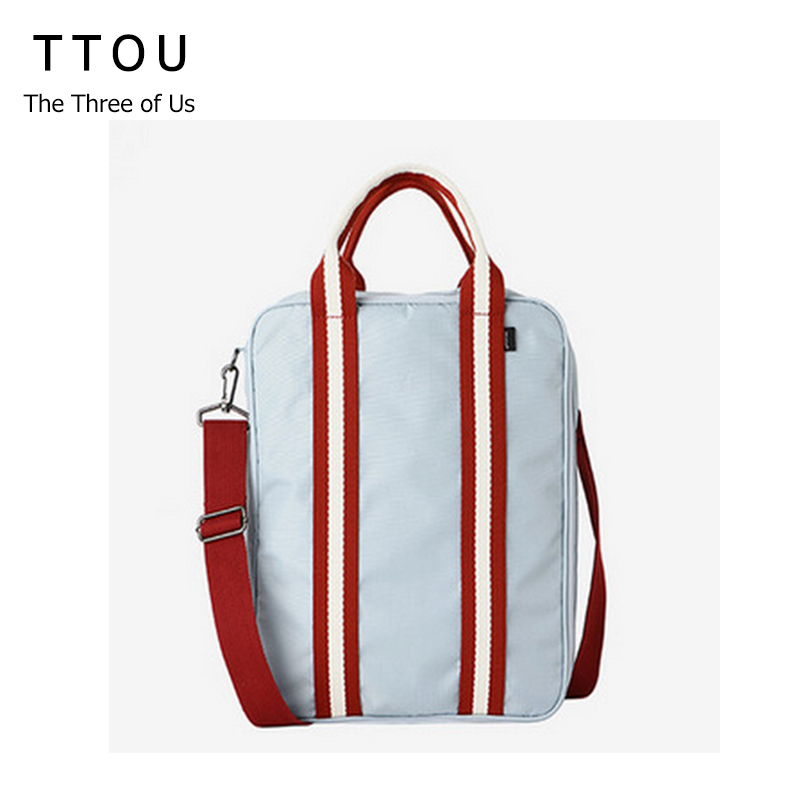 TTOU Women Waterproof Nylon Hand Bag for Traveling Large Capacity Shoulder Bag Carry on the Hand Luggage Casual Travel Bag benro cws30 nylon camera bag waterproof shockproof shoulder bag