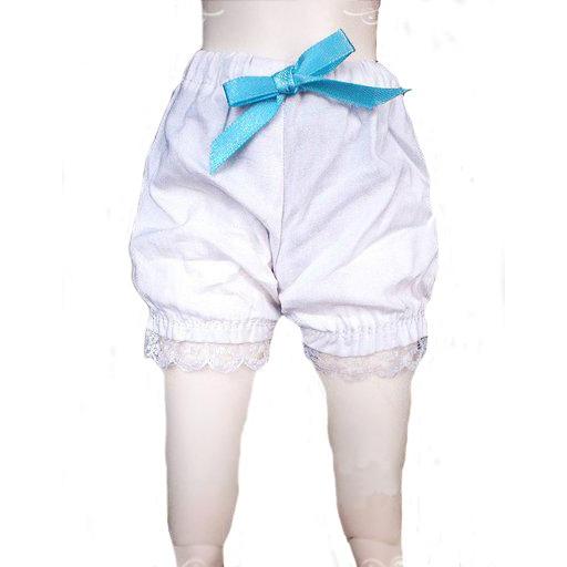 [wamami] 10# White Short Pants/Clothes 1/6 SD DZ DOD BJD Dollfie 1 3 1 4 1 6 1 8 1 12 bjd wigs fashion light gray fur wig bjd sd short wig for diy dollfie