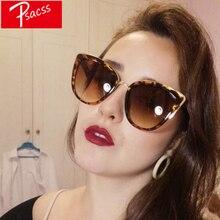 Psacss Vintage Big Cat Eye Sunglasses Women 2018 Sun Glasses Womens Fashion luxury Brand Designer High Quality Retro Sunglass