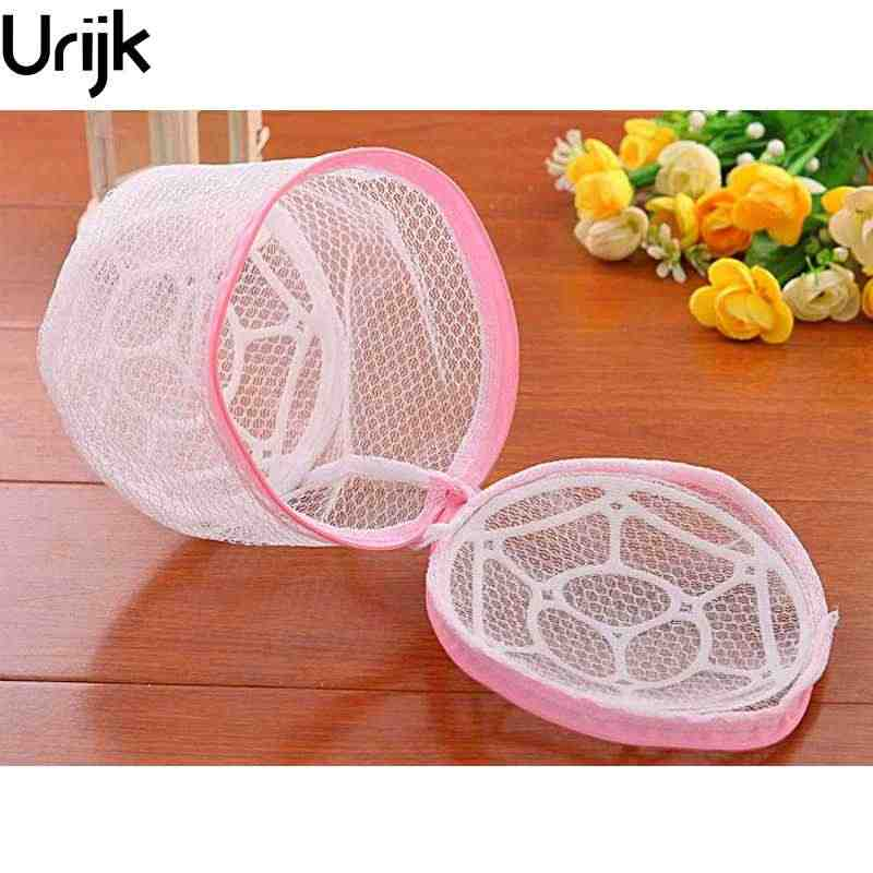 DIDIHOU 1Pc Multifunction Wash Protect Bag Bra Care With Hanger Bra Underwear Storage Drying Rack Basket Laundry Bags & Baskets