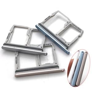 New For LG G6 US997 VS988 Nano Sim Card Tray Slot Holder with Micro SD Memory Card Socket Adapter Replacement Parts(China)