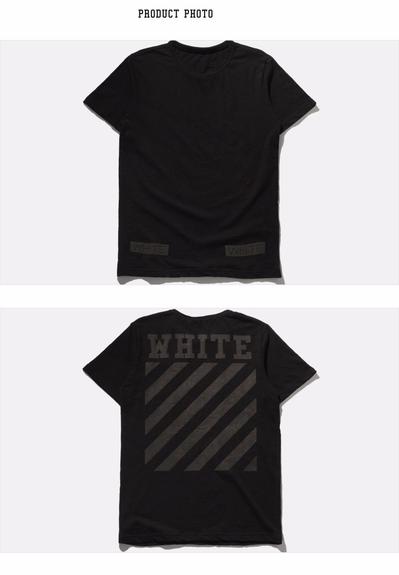 4f17009b New Fashion hip hop summer brand men t shirt off white Virgil Abloh ...