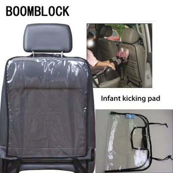 BOOMBLOCK Car Styling Child Mat Seat Cover For Opel Astra H G J Volvo S60 V70 XC90 Citroen C5 C4 C3 Subaru Forester image
