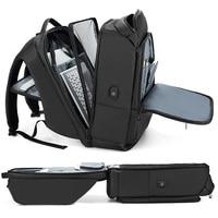 Multifunctional Men's Laptop Backpacks Large capacity outdoor travel Waterproof USB charging antitheft teen student backpack