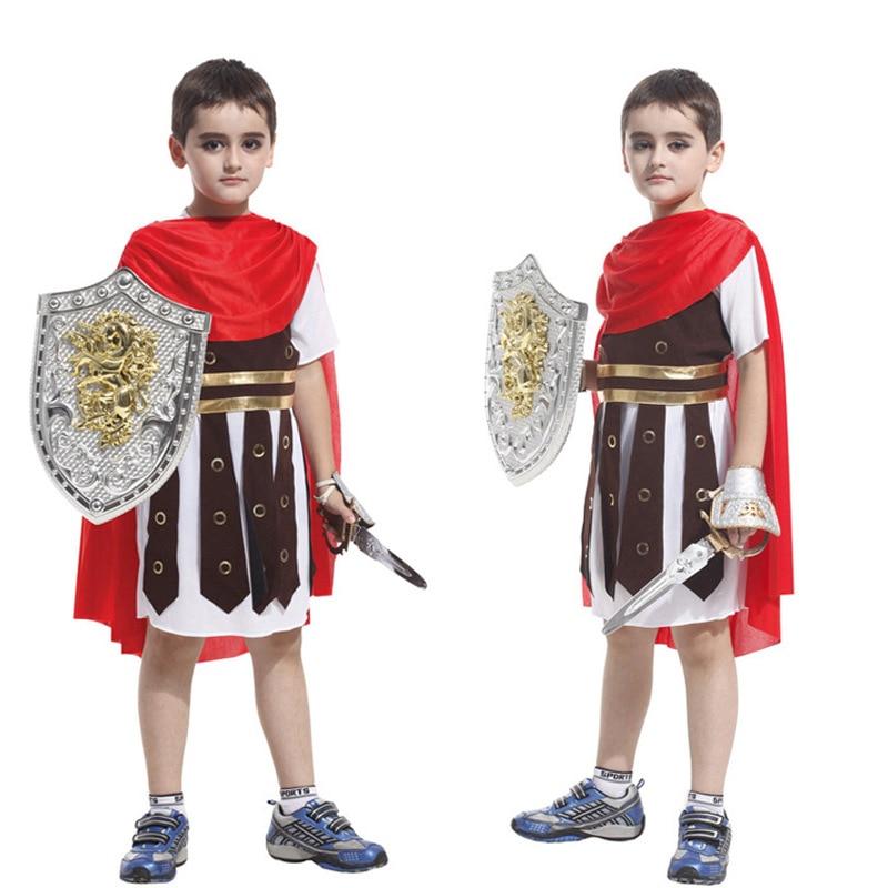 Halloween Cosplay Costume Rome Warrior Prince Performance Props Children Toys Gift аксессуары для косплея cosplay