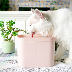 Automatic Electric Mute USB Cat Drinking Water Fountain Dog Pet Drinking Bowl with Filter Radar Induction Water Dispenser