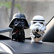 2pcs/set Star Wars Dark Knight StromTrooper Soldier Weapons Fashion Dolls Interior Dashboa
