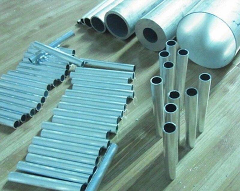 uxcell 6063 Aluminum Round Tube 300mm Length 12mm OD 10mm Inner Dia Seamless Aluminum Straight Tubing 2 Pcs
