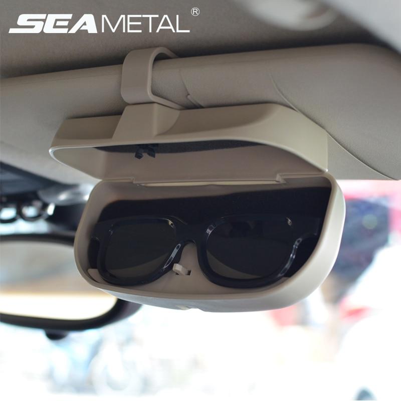Auto Sunčane naočale Kutija Kutija Organizator Naočale Skladišne - Dodaci za unutrašnjost automobila