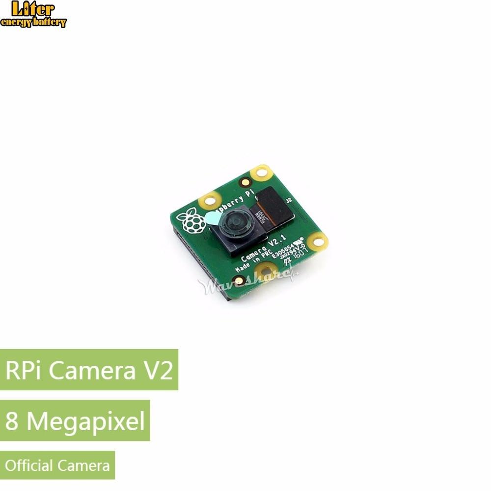 Original Raspebrry Pi Camera V2 Module 8-Megapixel IMX219 Sensor Official Camera From Raspberry Pi Supports All Pis