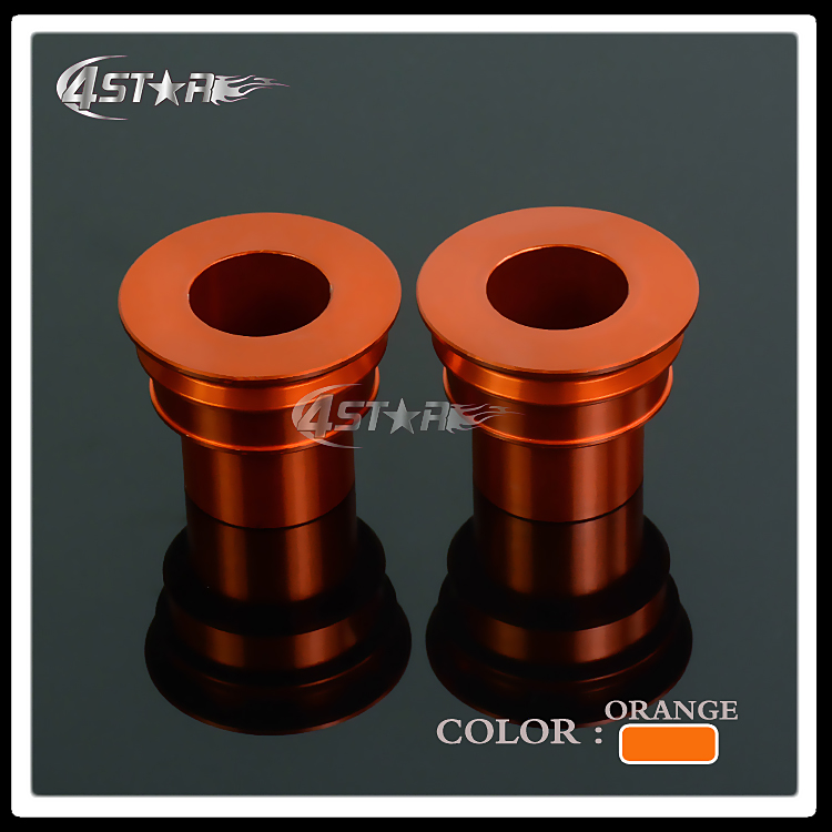 Billet Rear Wheel Hub Spacers Fit KTM SX XC-F SX-F EXC EXC-F/ W XC-W SMR 125 250 300 350 400 450 525 530 Motocross Dirt Bike orange cnc billet factory oil filter cover for ktm sx exc xc f xcf w 250 400 450 520 525 540 950 990