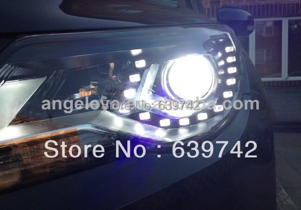 Для VW 2010-2012 року світлодіодні головні - Автомобільні фари - фото 2