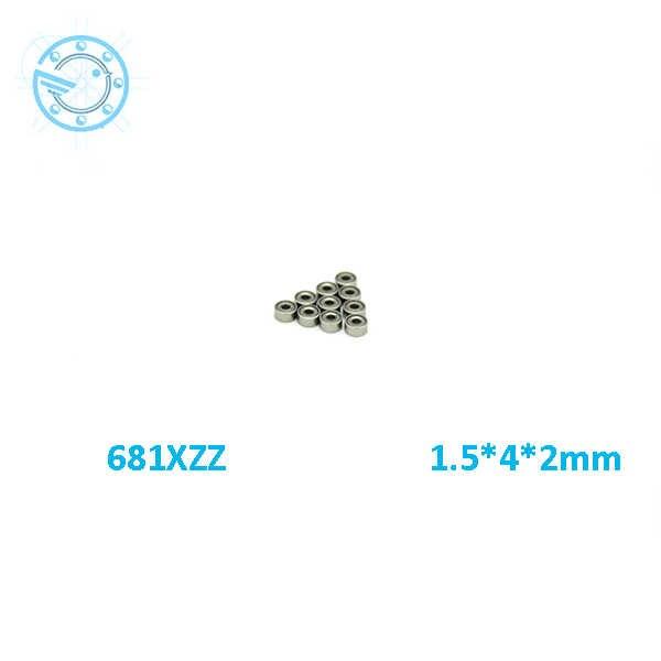 2017新しい682ZZ 682 682Z深溝玉軸受2 × 5 × 2.3ミリメートルミニチュアベアリングフル補完