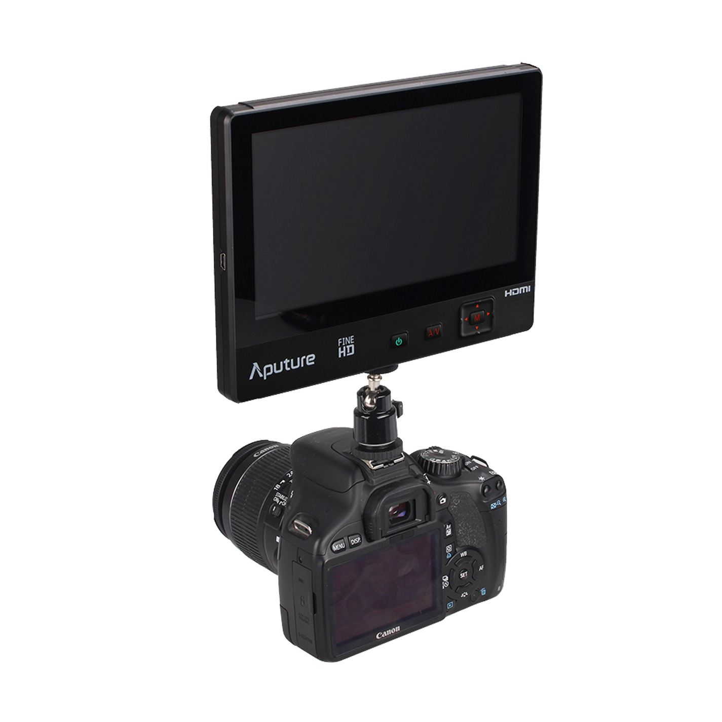Aputure VS-1 FineHD digital 7 inch LCD Field video Monitor V-Screen VS-1 FineHD Field Monitor accepts HDMI AV for DSLR Camcorder чернышов с и поехали русский язык для взрослых начальный курс 10 е изд cd