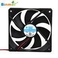 Caliente-venta 1800PRM BINMER 2 UNIDS 120*120mm 4 Pin 12 V DC Sin Escobillas Ordenador PC Ordenador caso del Ventilador De Refrigeración