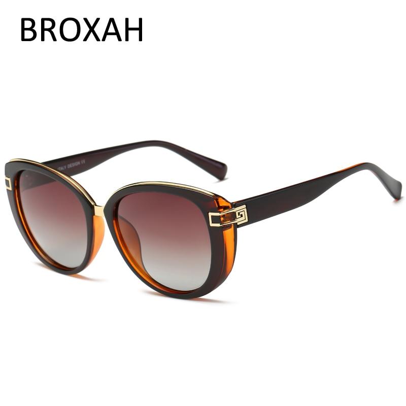 Moda gato olho óculos de sol das mulheres 2019 marca de luxo senhoras óculos polarizados óculos de condução feminino máscaras sol mujer
