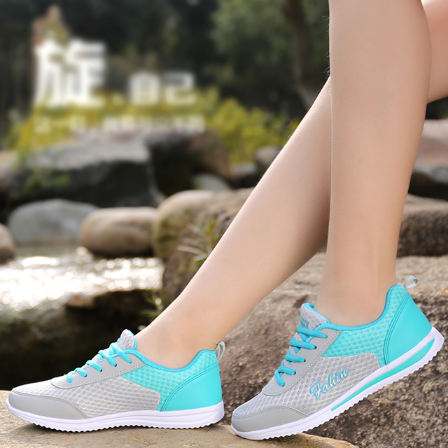 Sneakers Women 2018 new arrivals women casual shoes breathable fashion mixed colors women shoes sneakers