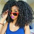 10ABrazilian Afro Kinky Curly Hair 3Pcs Curly Brazilian Hair Extension Kinky Curly Virgin Hair Mink Brazilian Hair Weave Bundles