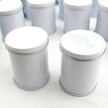 Размер: диаметр 39x50 мм/Модная маленькая круглая жестяная мини-коробка для чая или конфет/домашняя коробка для хранения ювелирных изделий