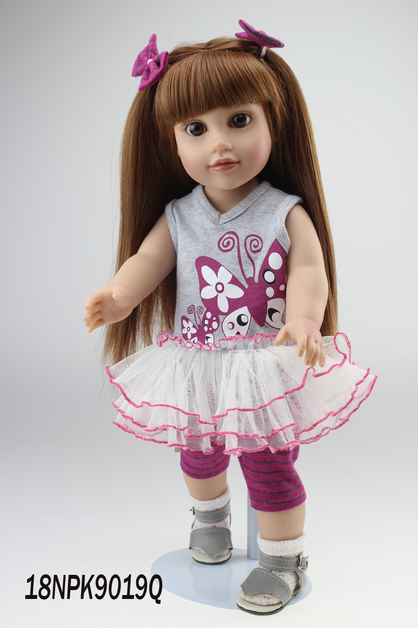 2015NEW wholesale Americcn girl doll Dollie&me Journey girl my generation doll, chilren toys and gifts 2015 new design 16inches american girl doll purple dress dollie