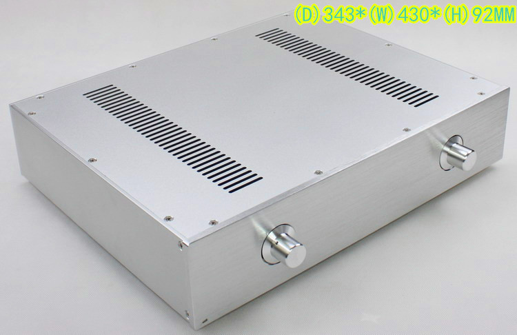 2017 Newly Listed WA59 Silver Aluminum Enclosure font b Amplifier b font Tube font b Amplifier
