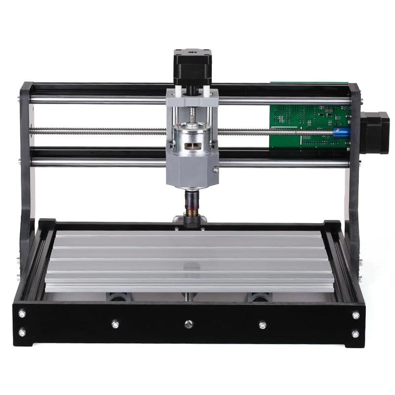 Tragbare 3018 3 Achse Mini DIY CNC Router Einstellbare Geschwindigkeit Spindel Motor Holz Gravur Maschine Fräsen Stecher