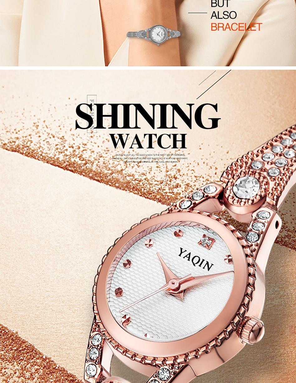 2018 nowych moda luksusowa marka kobiet zegarek biznes dorywczo - Zegarki damskie - Zdjęcie 5