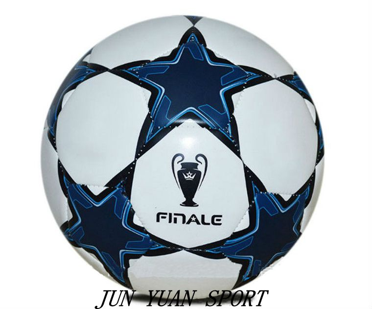 ФОТО High Quality New 2016 season Champion league soccer ball PU granule slip-resistant football Size 5 seemless soccer ball