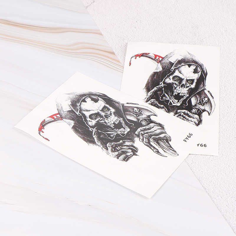 1 шт. хна поддельные флеш-наклейки татуировки крутые животные череп боди-арт Орел водонепроницаемые Временные татуировки для мужчин и женщин