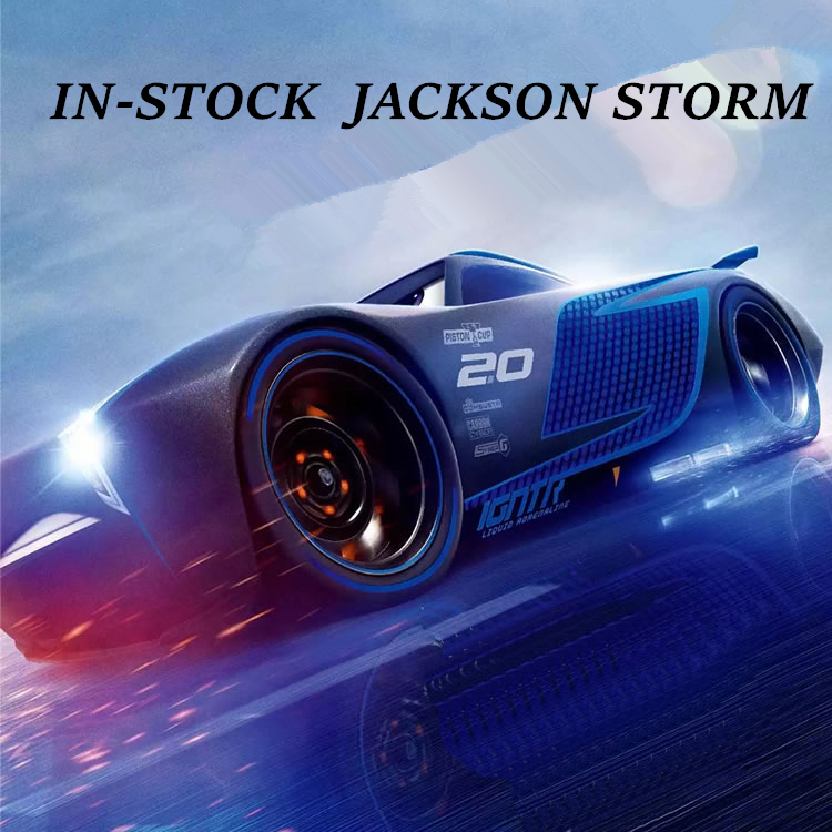buy disney pixar cars 3 jackson storm diecast metal toys car for children gift. Black Bedroom Furniture Sets. Home Design Ideas
