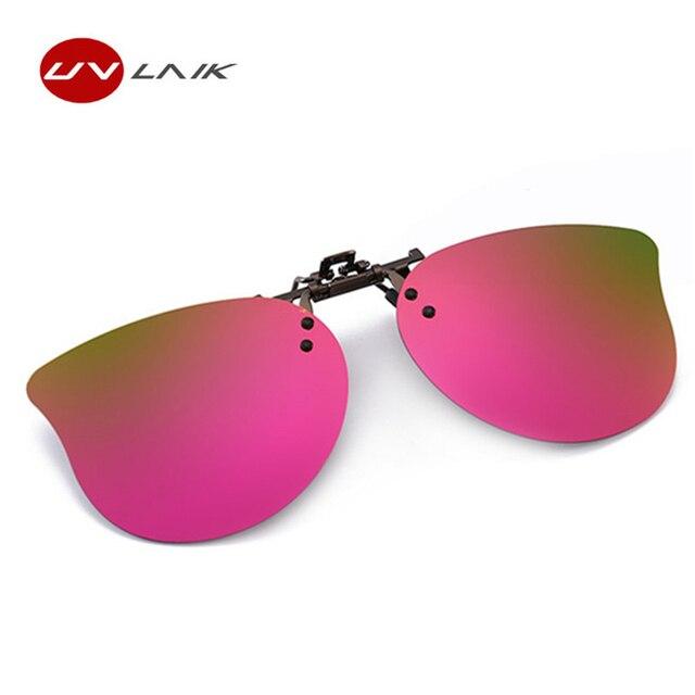 3979beafdf235 UVLAIK Kids Polarized Sunglasses Clip Boys girls Cute Children Clip on Myopia  Glasses Child Polarizing Eyes Sun glasses lens