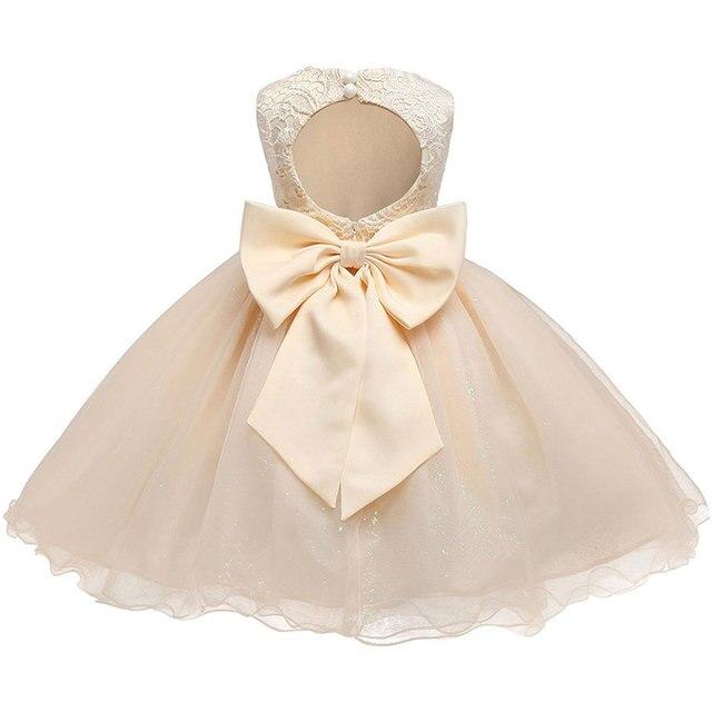 Formal Baby Girl Birthday Party Dress 2018 Christening Size 6 7 8 Children Clothing Ball Princess