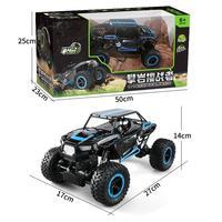1 14 2 4Ghz Rock Crawler 4 Wheel Drive Radio Remote Control RC Car Green Blue