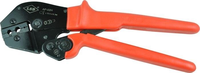 Hand crimping tools(AP-02H) for press coaxial cable RG55, RG58, RG59 fiber optic cable and 6.5/5.4/1.72mm coax connectors