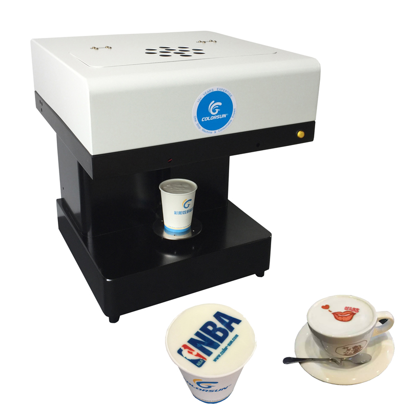 coffee printer food printer inkjet printer selfie coffee printer Full Automatic Latte Coffee Printe WIFI function sim sensitive 100