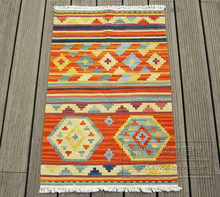 Kilim импорт из чистой шерсти ручной работы матрасы ковер тонкие плетеные коврики с Спайк гобелен 59gc154yg4