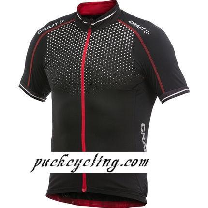 0fb962b09 Craft Performance Glow Jersey Short Sleeve Jerseys Black Red bicycle sports  man Bike Riding Shirts