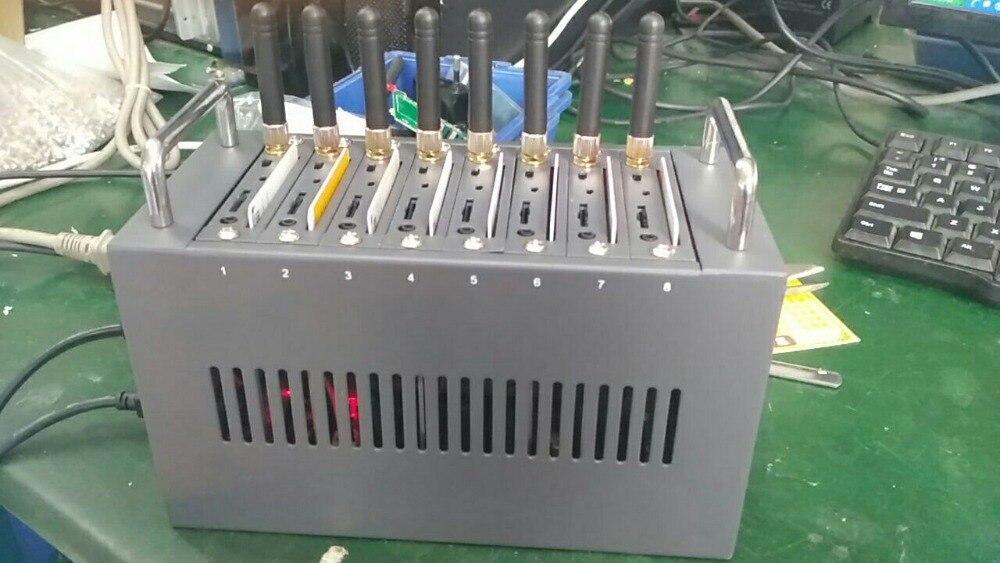 Fabrik Preis 8 Ports Usb Gsm Modem Pool Mtk Unterstützung Imei ändern Und Sms Senden/receving Groß Sms Gerät