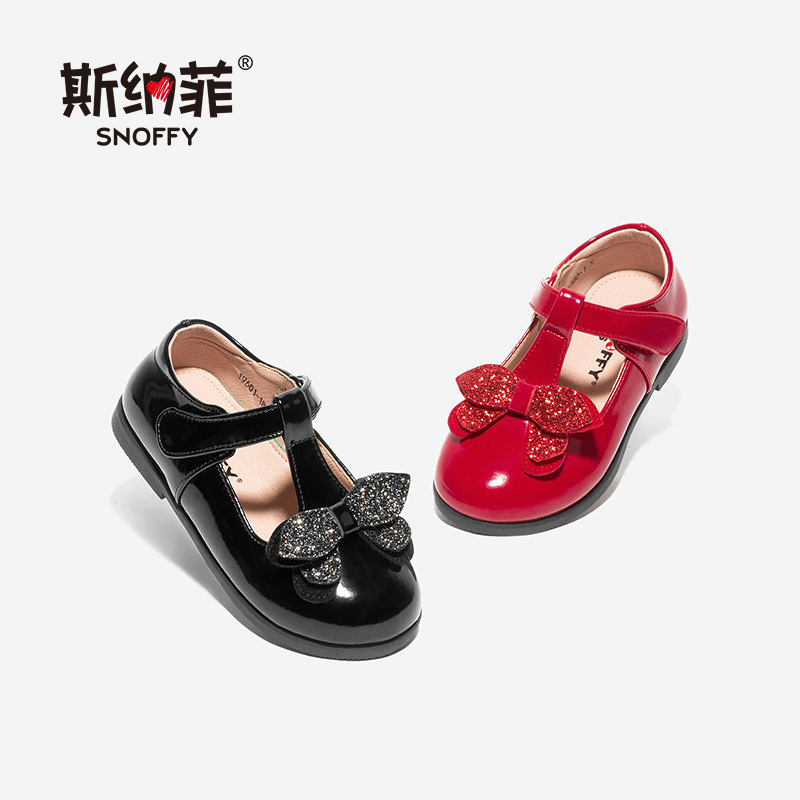 NEW Genuine Leather Kids Girls Shoes Cute Bow Wedding Party Dress Shoes For Girls Casual Spring Leather Shoes TX427NEW Genuine Leather Kids Girls Shoes Cute Bow Wedding Party Dress Shoes For Girls Casual Spring Leather Shoes TX427