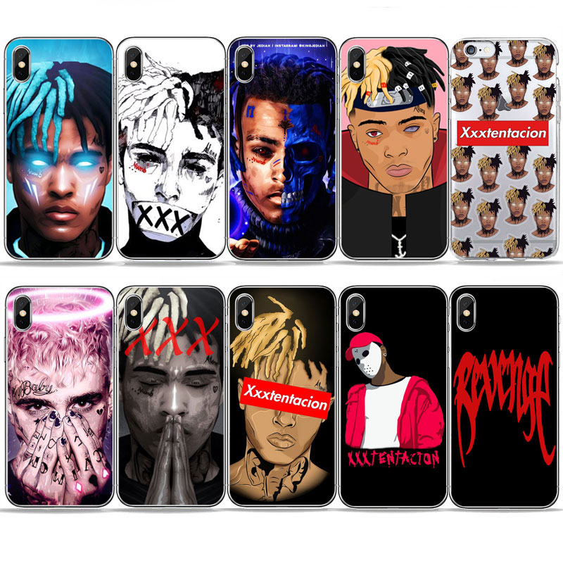 Sad boys <font><b>XxxTentacion</b></font> Lilpeep rapper phone <font><b>Case</b></font> For <font><b>iPhone</b></font> 11 PRO MAX 6s 5 8 <font><b>7</b></font> Plus X XR XS MAX Soft TPU Silicone Cover <font><b>Case</b></font> image