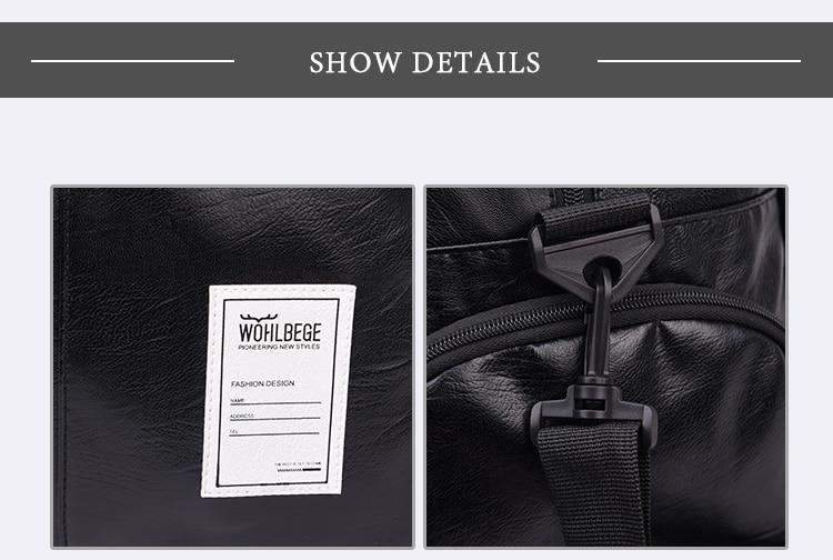 Мужская Дорожная сумка в стиле Лолиты, большая спортивная сумка, независимая обувь для хранения, большая сумка для фитнеса из искусственной кожи, женская сумка, сумки для багажа, спортивная сумка
