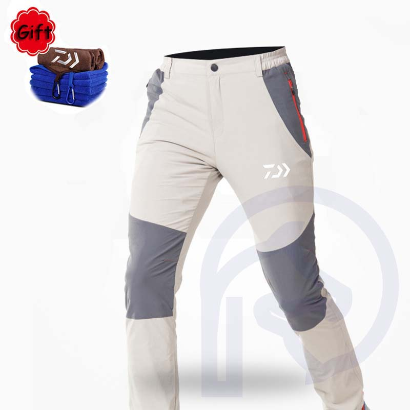 Summer Fishing Clothing Men Outdoor Sports Hiking Camping Fishing Pants Anti UV Quick drying Windproof Breathable Trousers