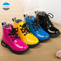 2017 de 1 a 11 años de edad marca invierno primavera niña zapatos de niños de la manera martin botas cálidas niños cargador de la nieve de alta calidad botas
