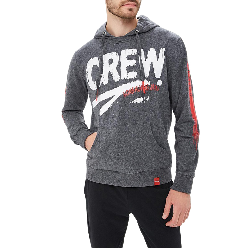 Hoodies & Sweatshirts MODIS M182M00039 hooded jumper sweater for male for man TmallFS