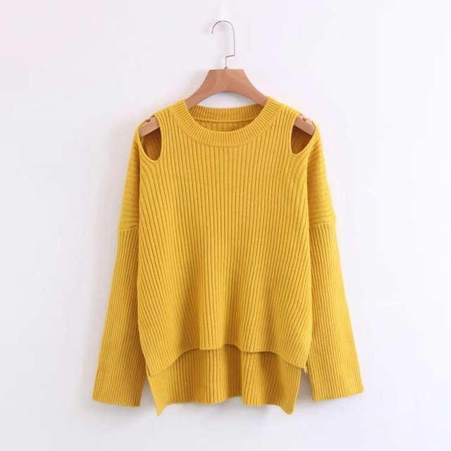 Sexy Off Shoulder Loose Sweaters
