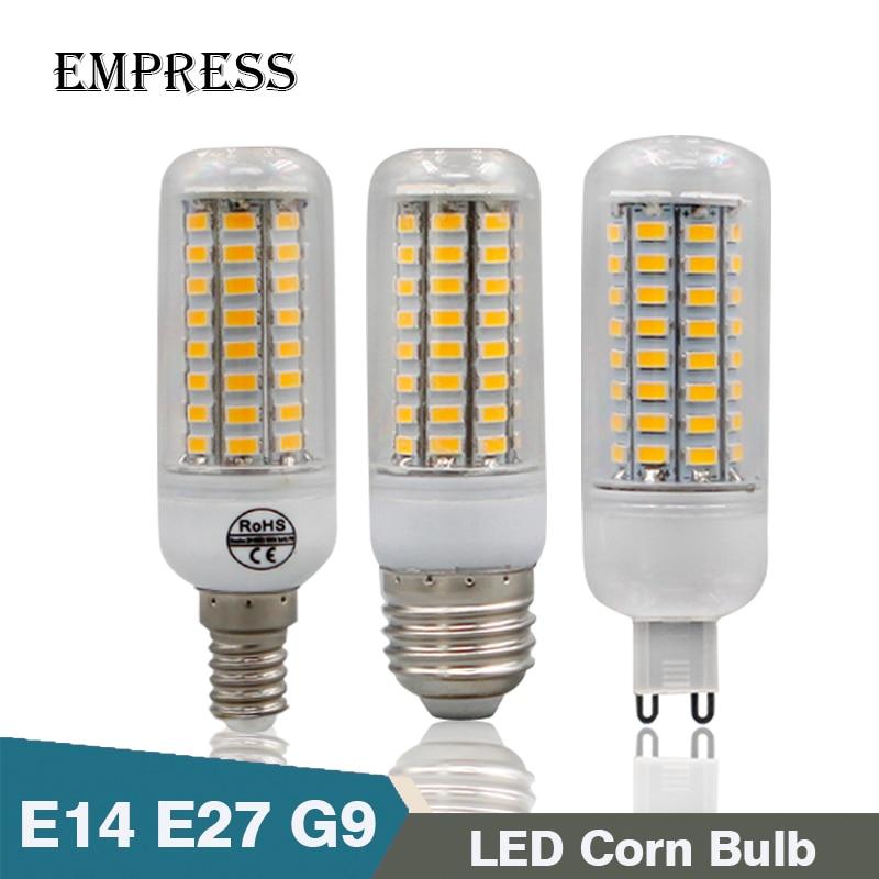 lampada led corn light bulb energy saving lamp E27 E14 G9 220v SMD5730 candle light home lighting bombillas bright led spotlight