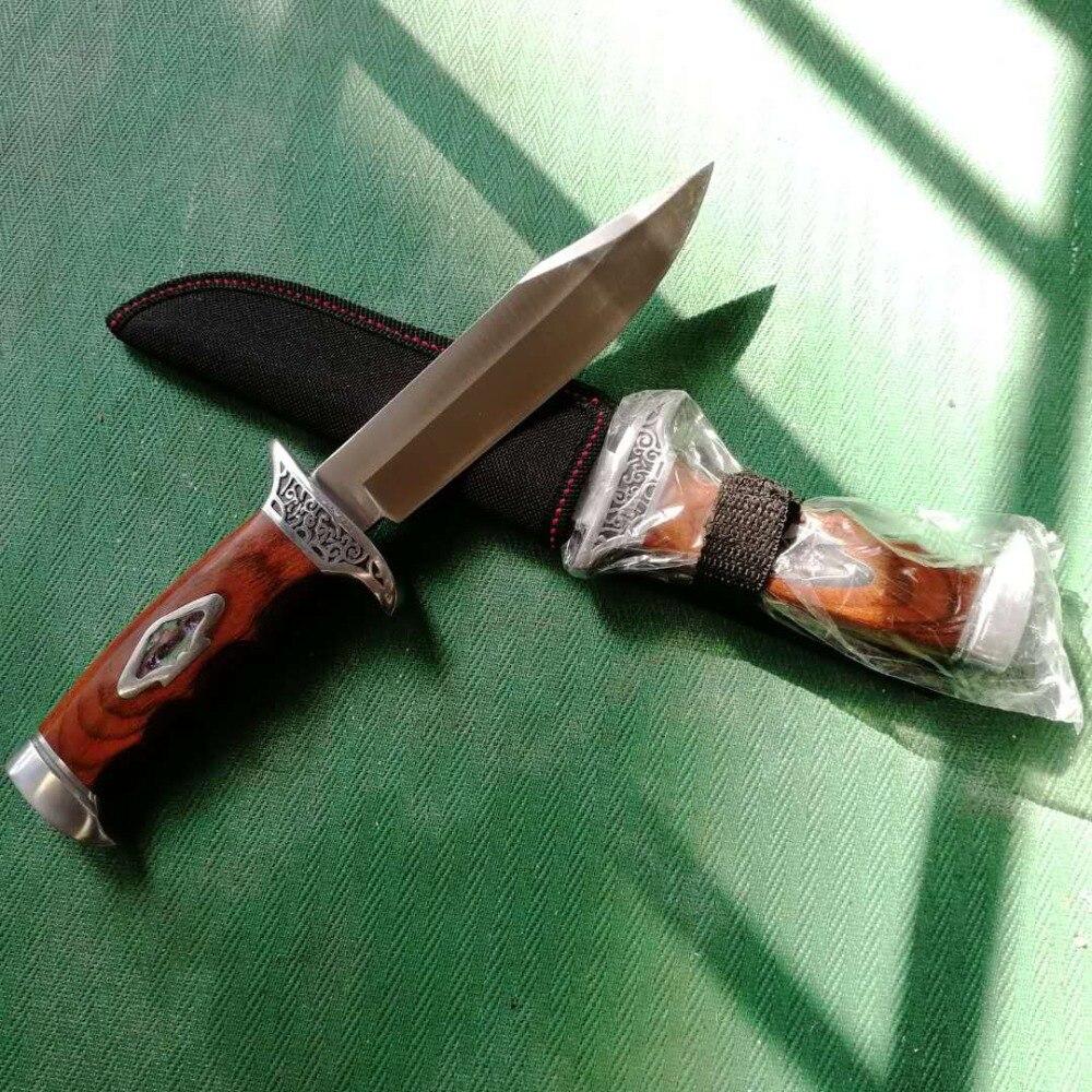Cuchillo de caza táctico de supervivencia cuchillo de cocina Faca Cuchillos Navajas Zakmes coutail de Poche Coltelli Mes