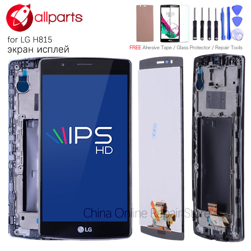 Single SIM Original 5.5 Display For LG G4 LCD H815 Display Touch Screen Digitizer Assembly For LG G4 LCD Display H815 VS986 LCD